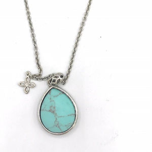 Fossil Turquoise Necklace (Tray 1) #0453